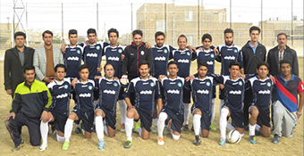 Yazd Pipe became championship of Yazd workers football